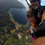 Tandem Skydive at Priest Lake with handcam